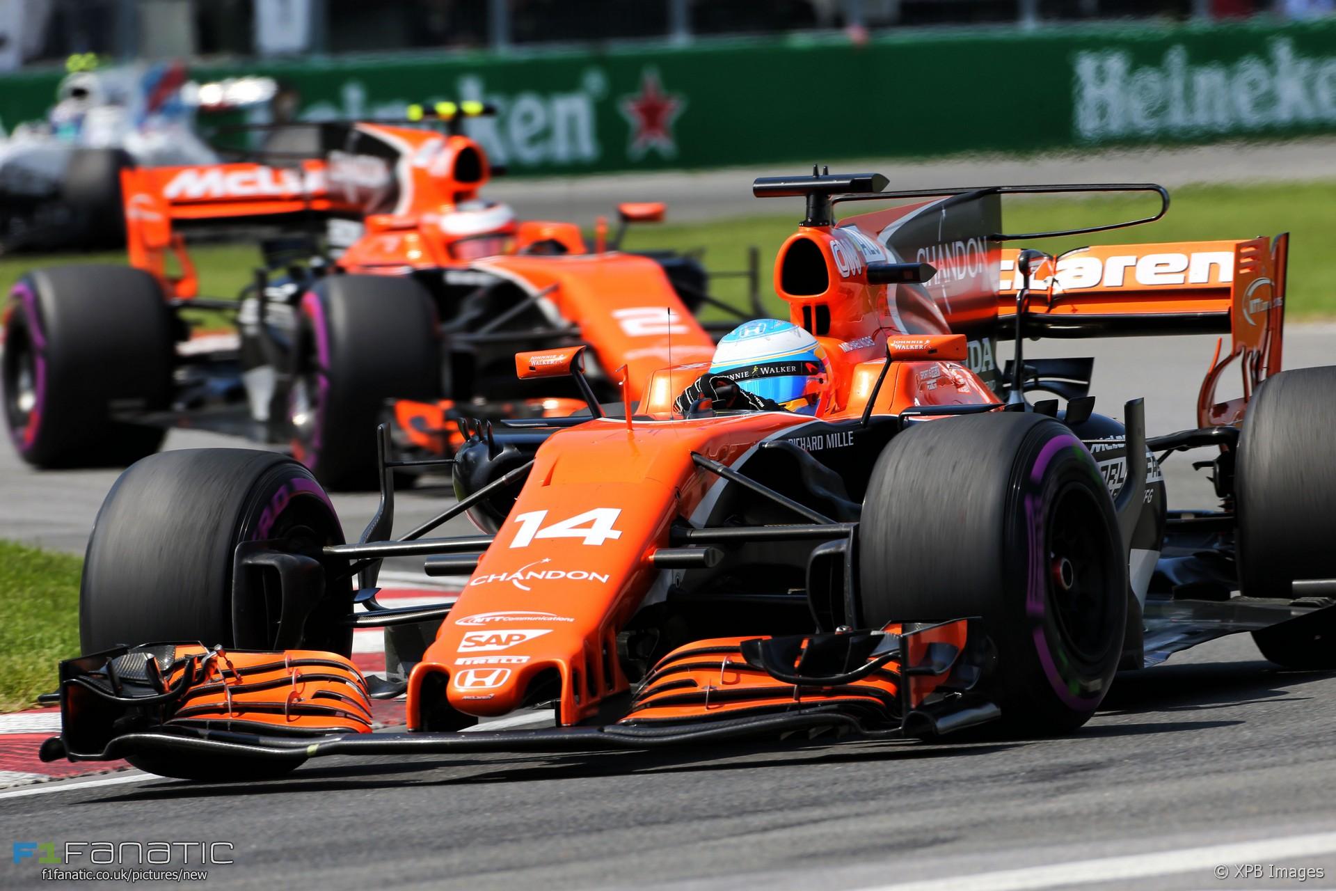 Fernando Alonso Mclaren Circuit Gilles Villeneuve 2017