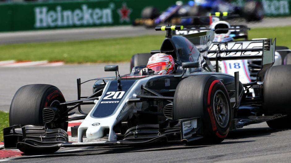 Kevin Magnussen, Haas, Circuit Gilles Villeneuve, 2017