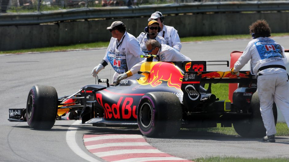 Power unit problems weren't Red Bull's only weakness in 2017
