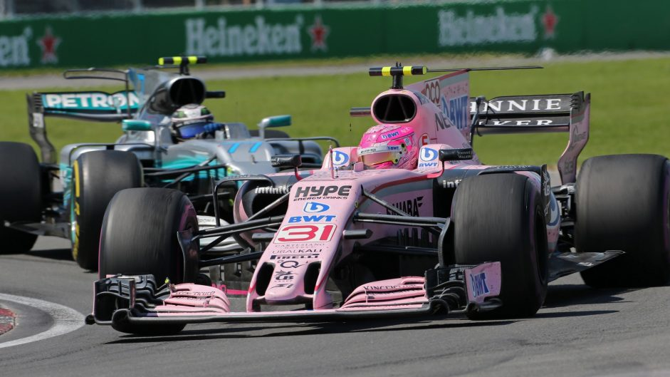 Esteban Ocon, Force India, Circuit Gilles Villeneuve, 2017