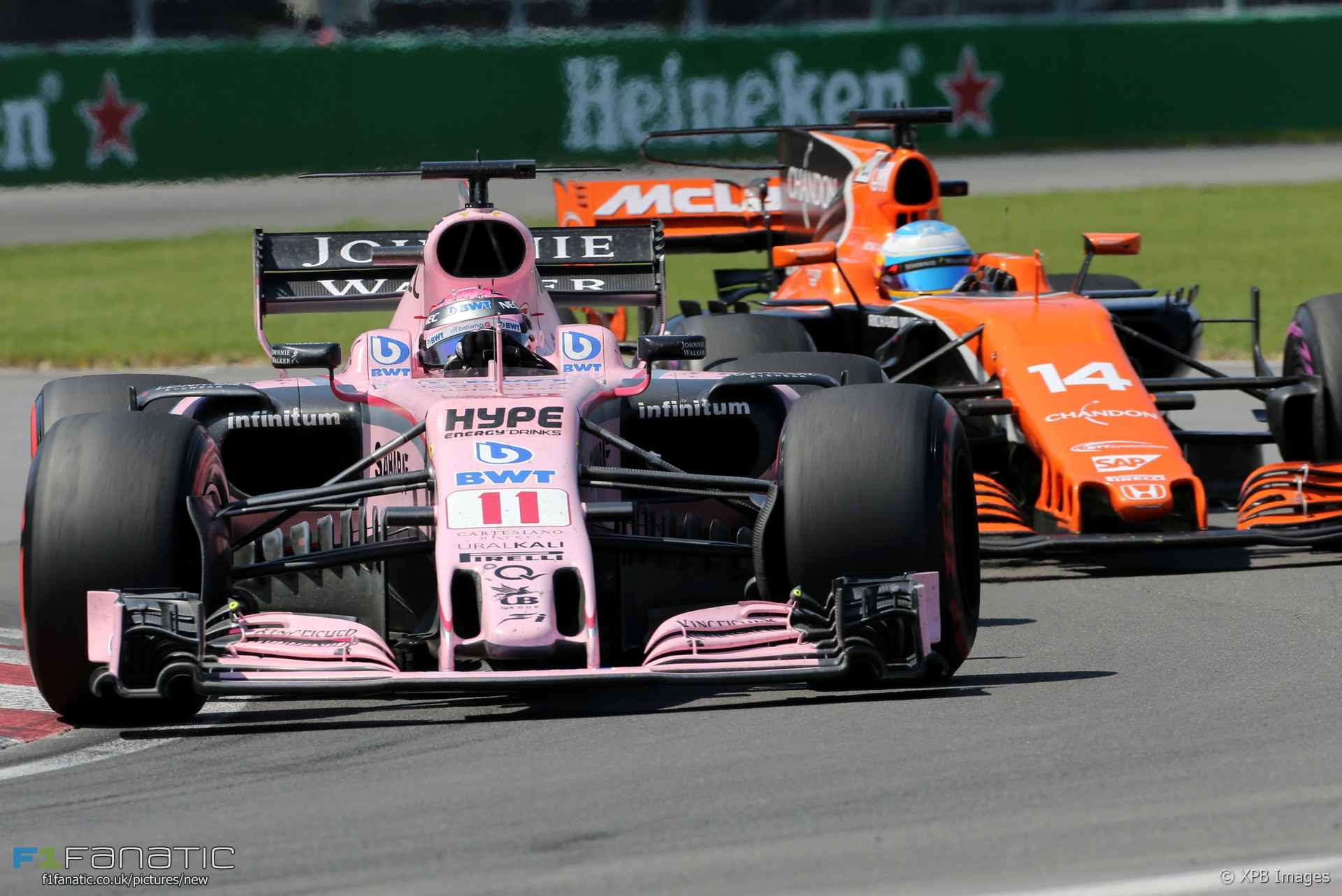 Sergio Perez, Force India, Circuit Gilles Villeneuve, 2017