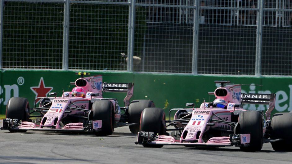 Esteban Ocon, Force India, Circuit Gilles Villeneuve, 2017