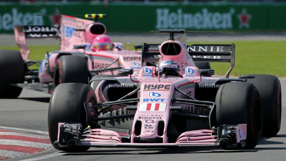 2017 F1 team mate battles: Perez vs Ocon at Force India