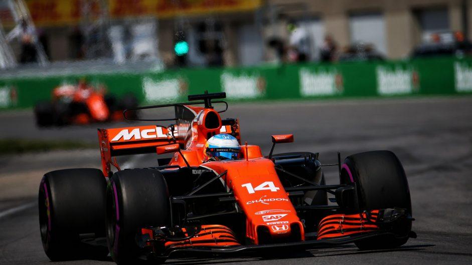 Fernando Alonso, McLaren, Circuit Gilles Villeneuve, 2017