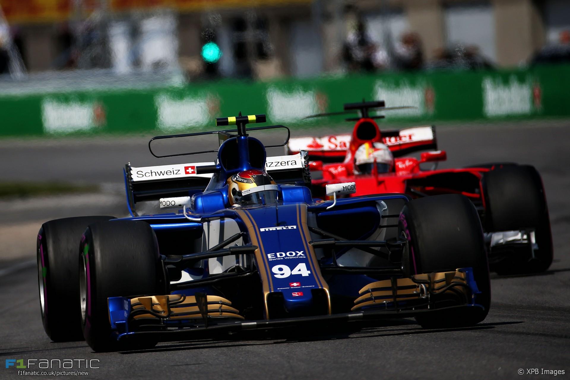 Pascal Wehrlein, Sauber, Circuit Gilles Villeneuve, 2017