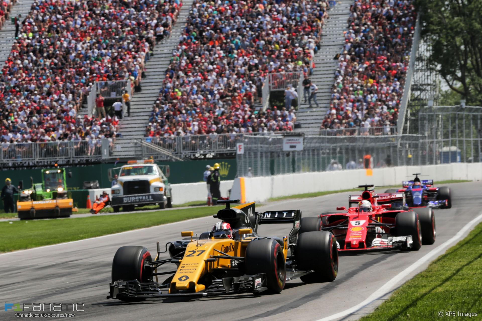 Nico Hulkenberg, Renault, Circuit Gilles Villeneuve, 2017