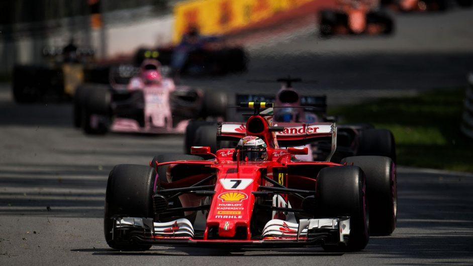 Kimi Raikkonen, Ferrari, Circuit Gilles Villeneuve, 2017