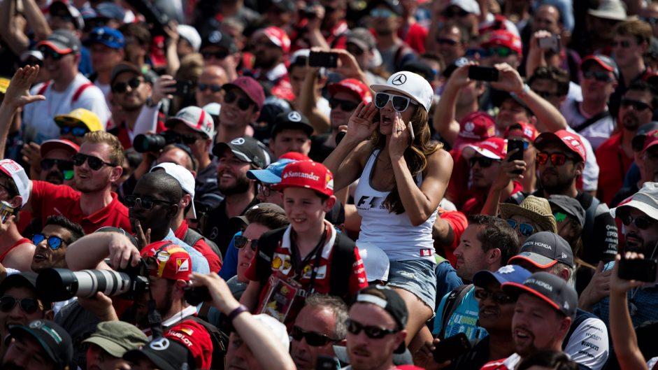 Fans, Circuit Gilles Villeneuve, 2017
