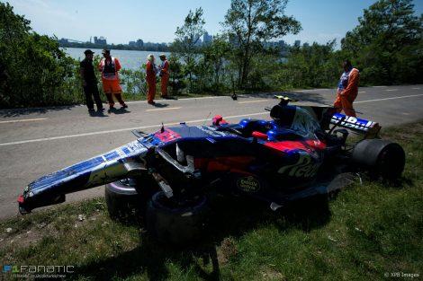Toro Rosso, Circuit Gilles Villeneuve, 2017