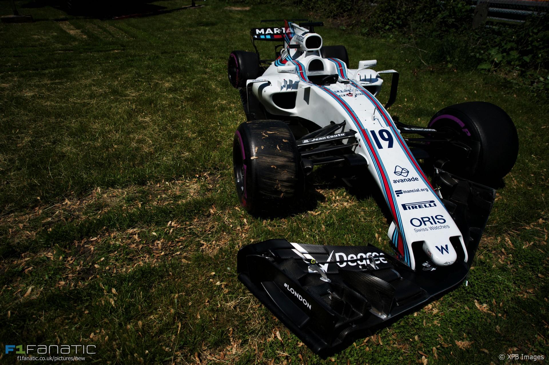 Williams, Circuit Gilles Villeneuve, 2017