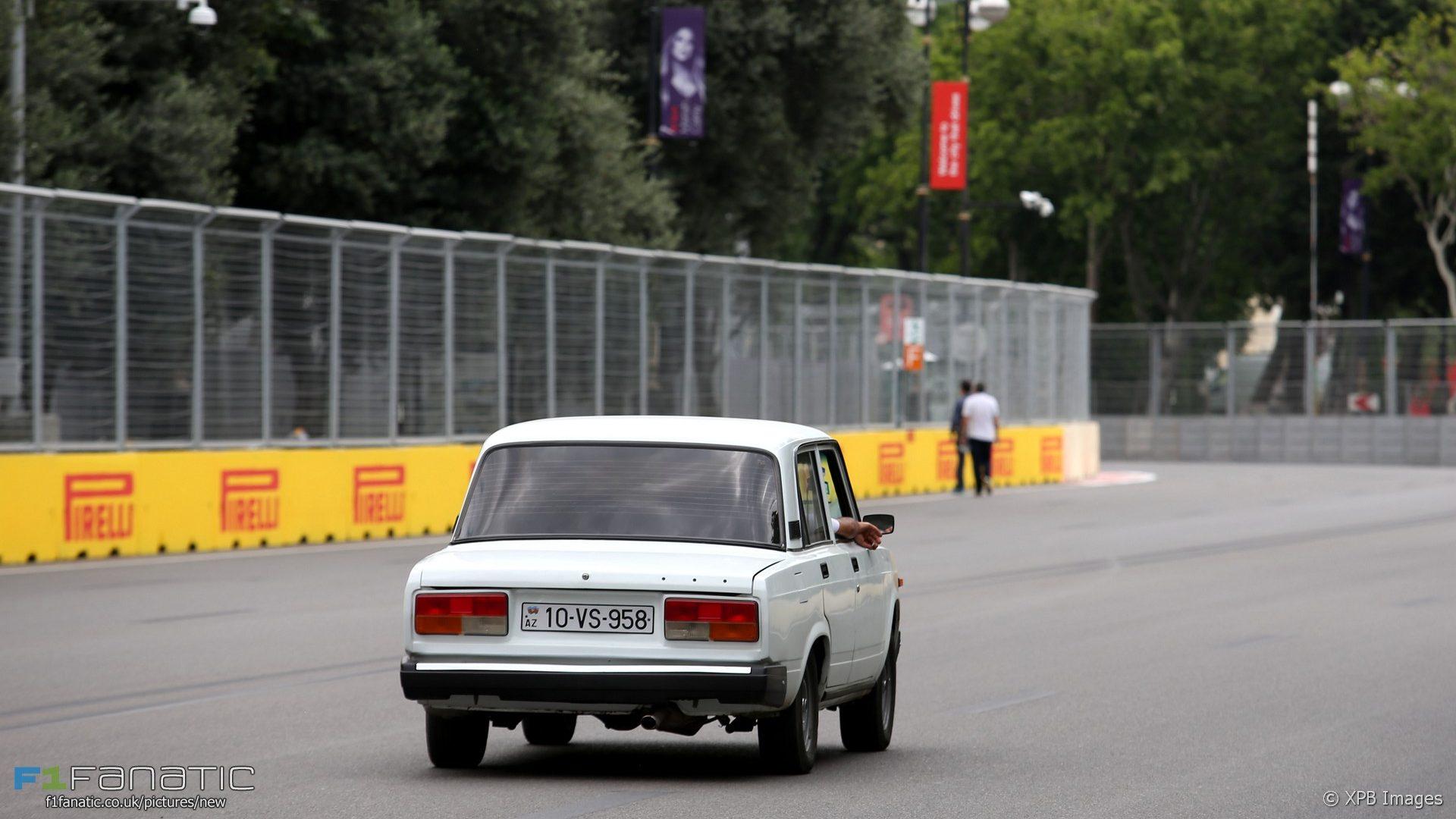 Baku City Circuit, 2017