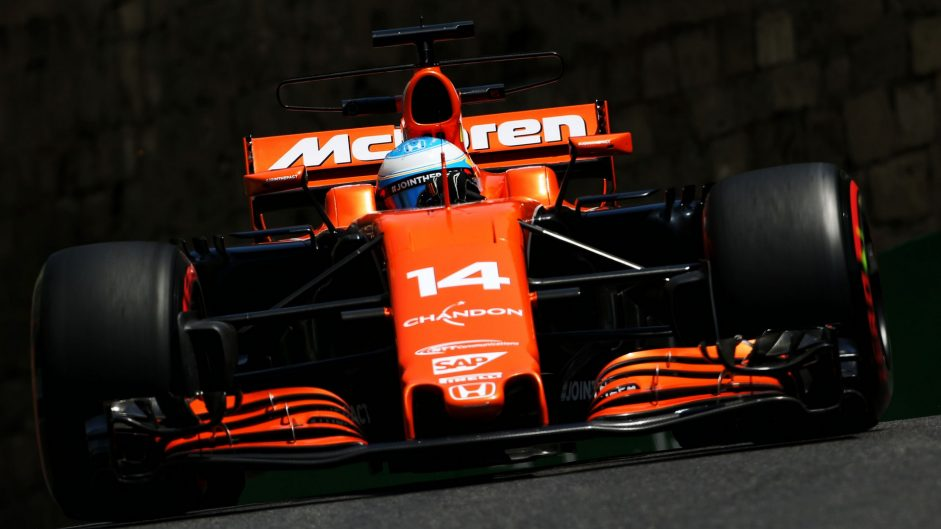 McLaren say gearbox, not engine, caused Alonso's second practice stoppage