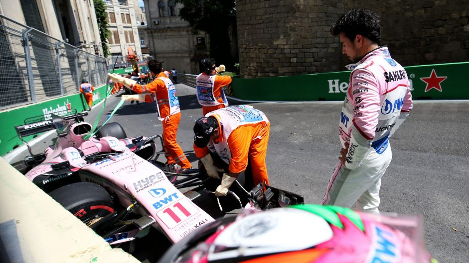 2017 Azerbaijan Grand Prix practice in pictures