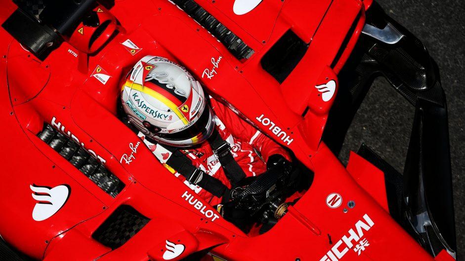 Sebastian Vettel, Ferrari, Baku City Circuit, 2017