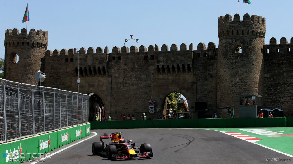 Red Bull lead practice after Perez crash