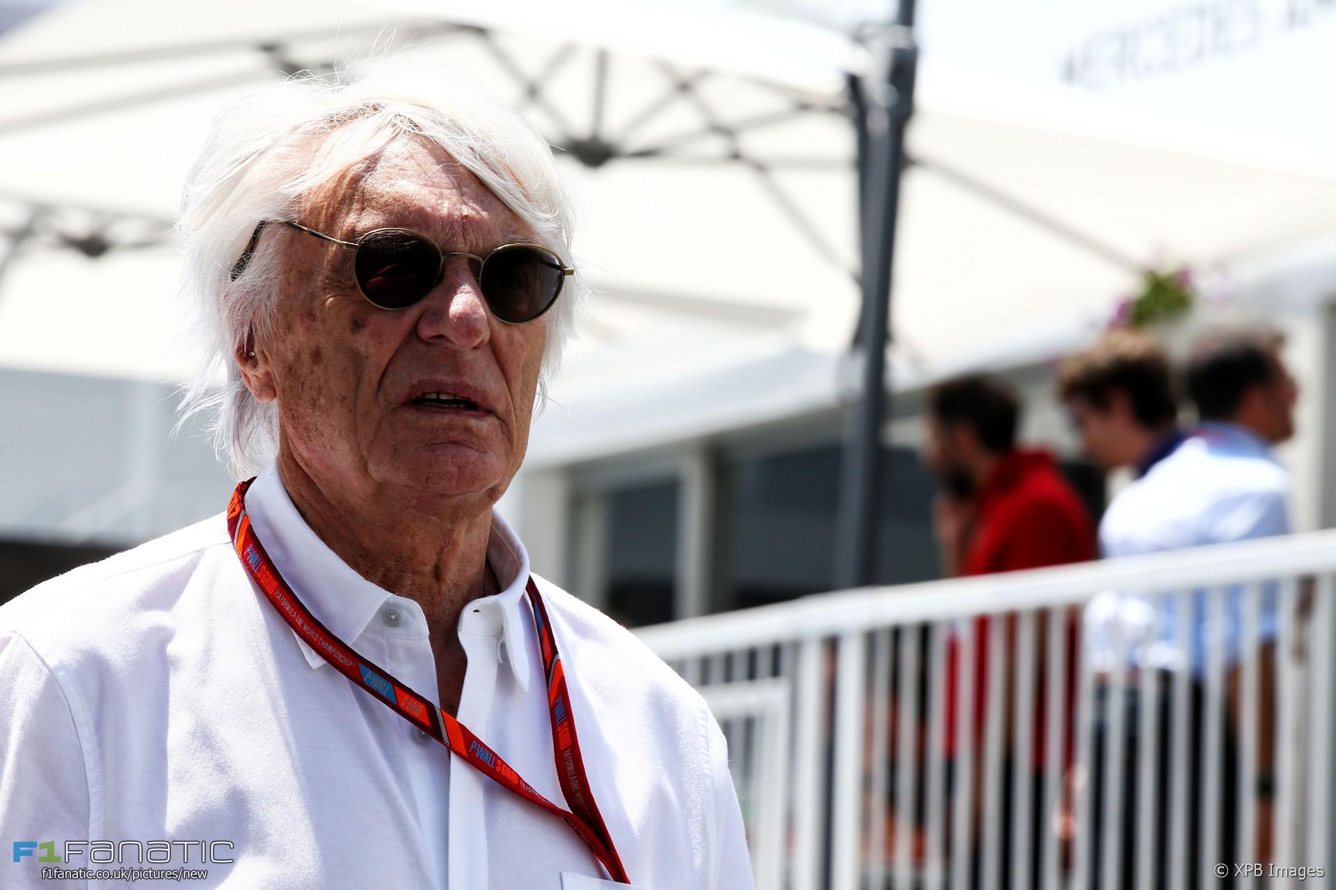 Bernie Ecclestone, Baku City Circuit, 2017