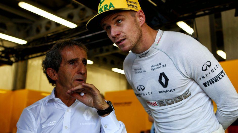 Alain Prost, Nico Hulkenberg, Renault, Baku City Circuit, 2017