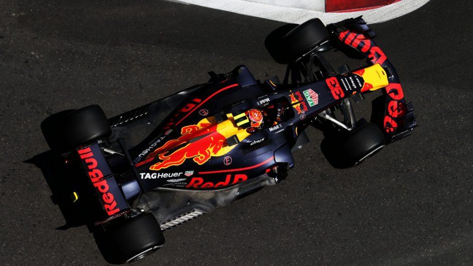 Max Verstappen, Red Bull, Baku City Circuit, 2017