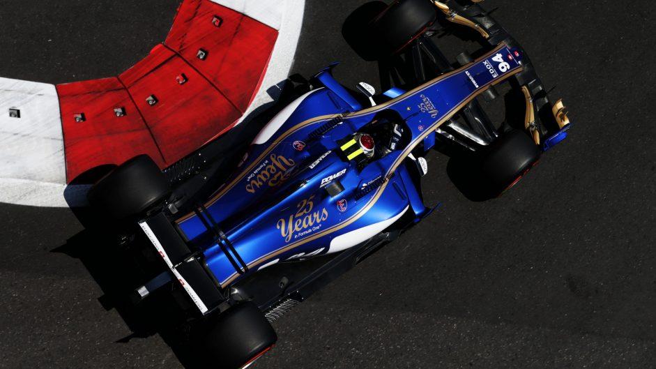 Pascal Wehrlein, Sauber, Baku City Circuit, 2017