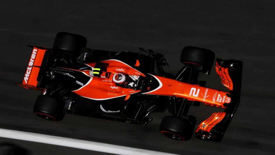 Stoffel Vandoorne, McLaren, Baku City Circuit, 2017