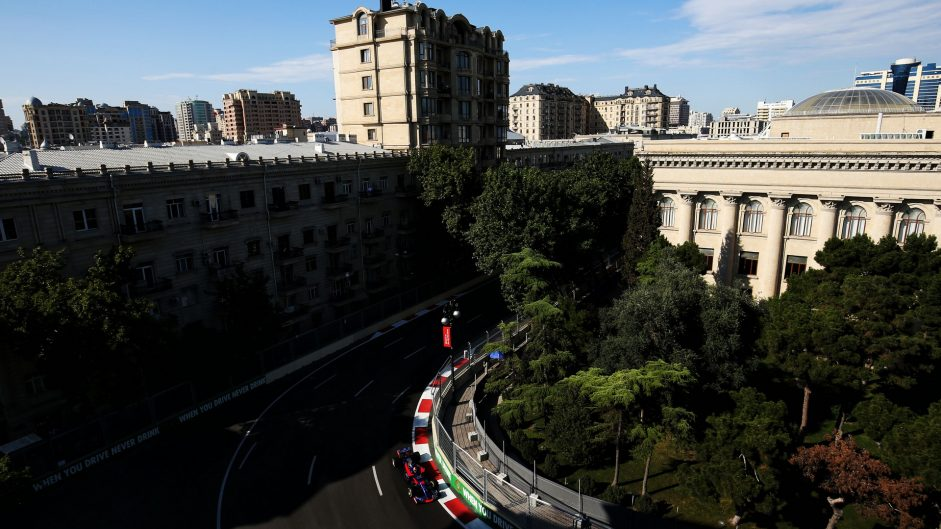 Daniil Kvyat, Toro Rosso, Baku City Circuit, 2017
