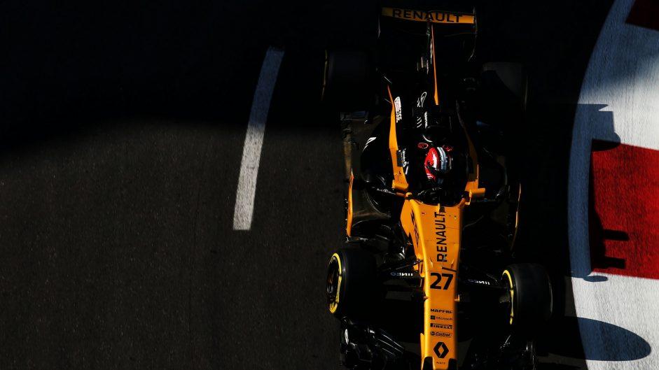 Nico Hulkenberg, Renault, Baku City Circuit, 2017