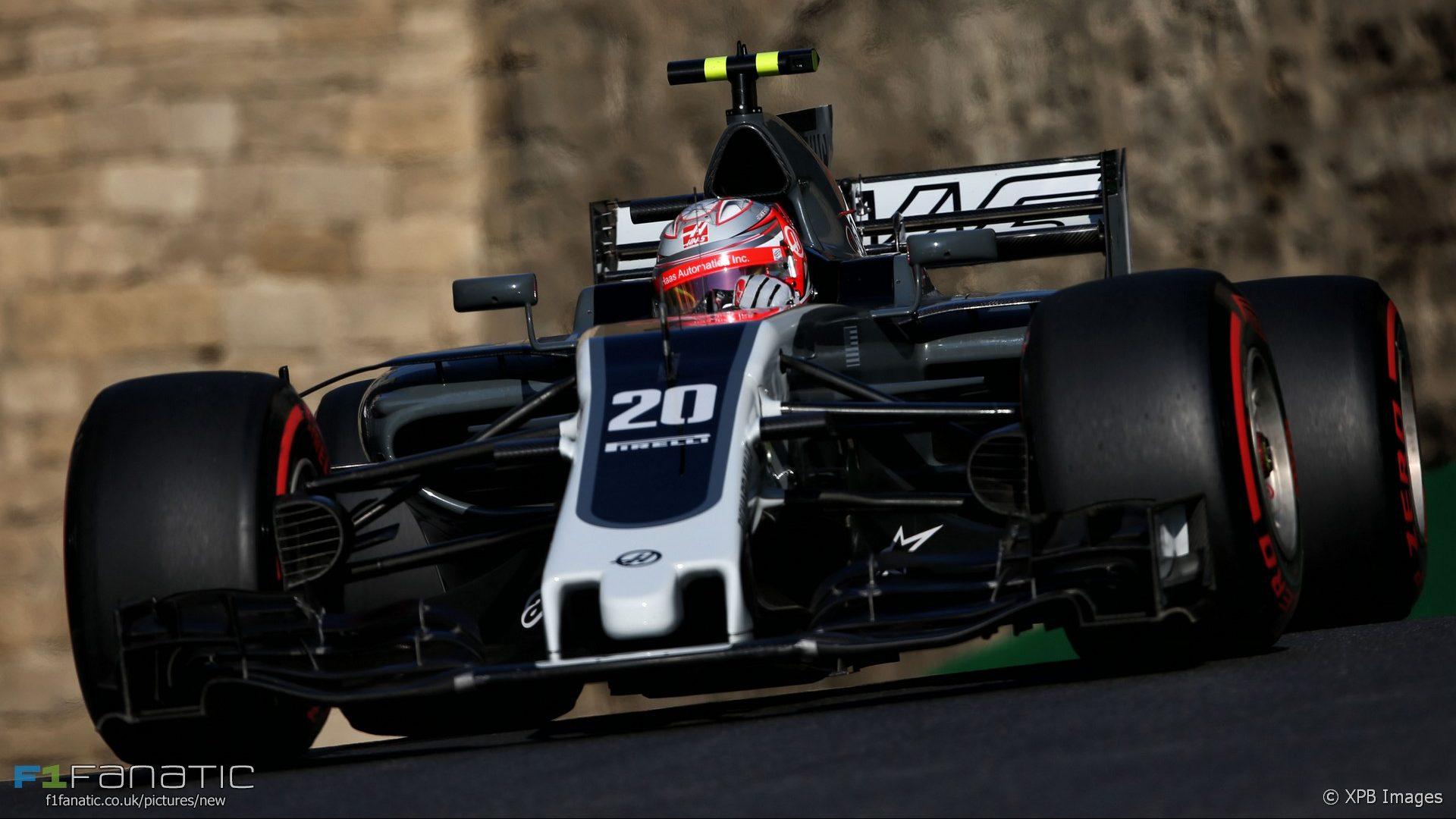 Kevin Magnussen, Haas, Baku City Circuit, 2017