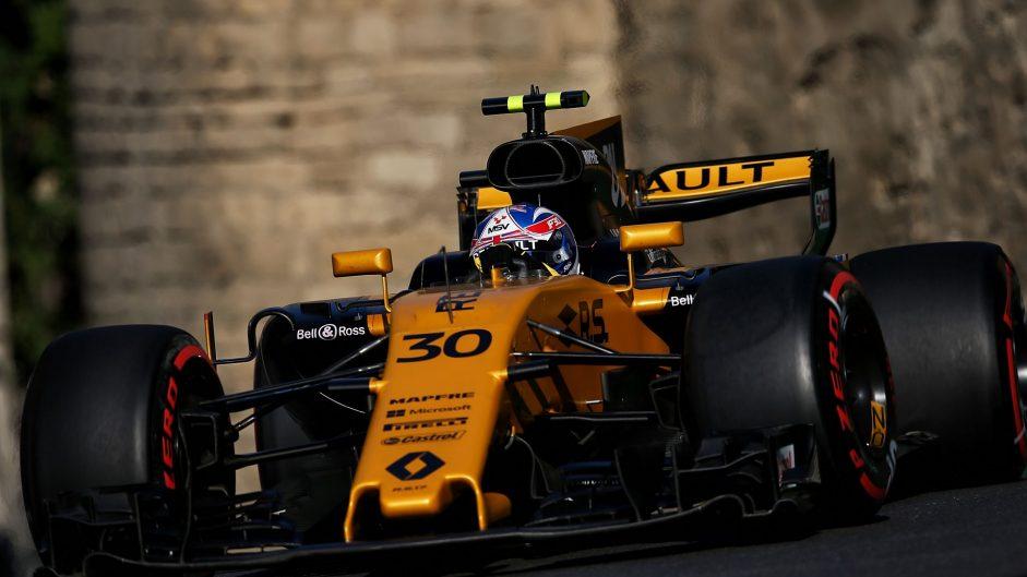 Jolyon Palmer, Renault, Baku City Circuit, 2017