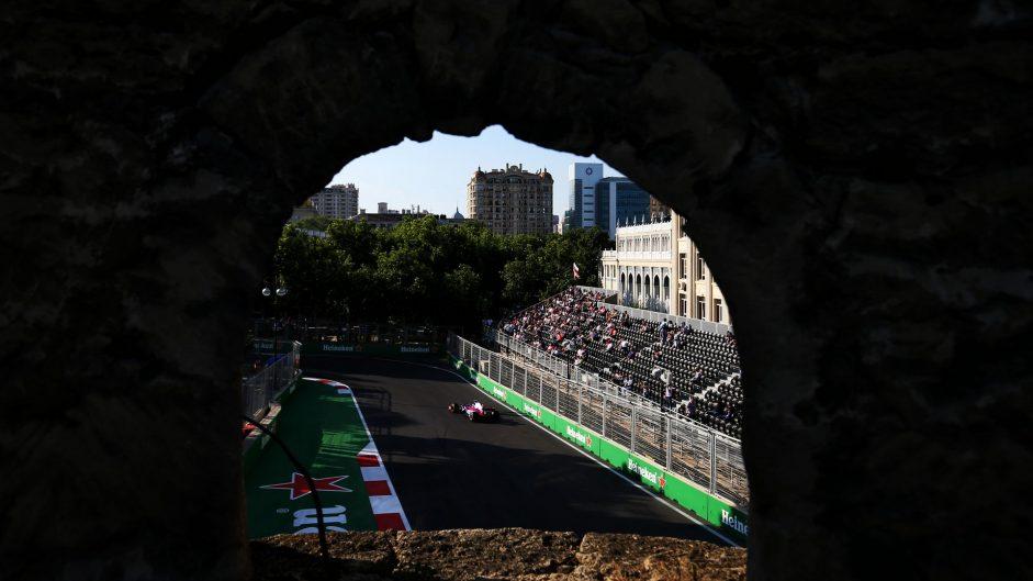 Carlos Sainz Jnr, Toro Rosso, Baku City Circuit, 2017
