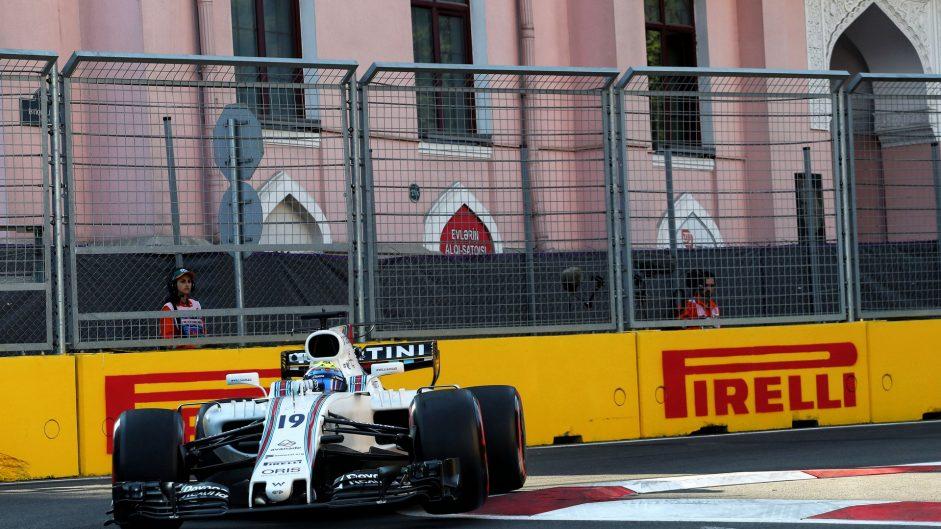 Felipe Massa, Williams, Baku City Circuit, 2017