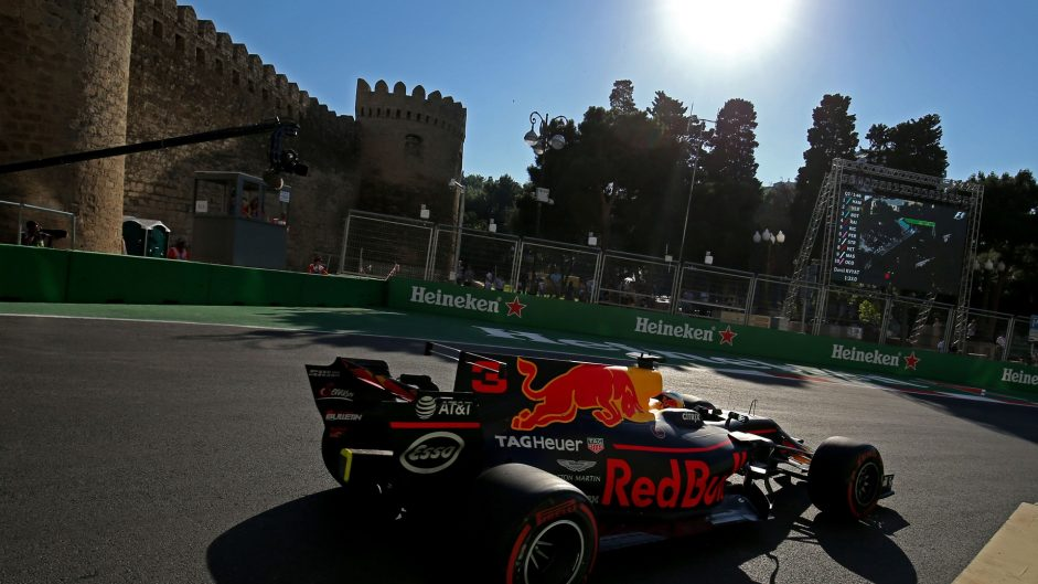 2017 Azerbaijan Grand Prix qualifying and final practice in pictures