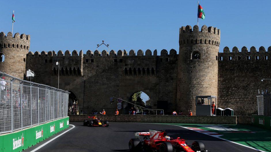 2017 Azerbaijan Grand Prix interactive lap times and fastest laps