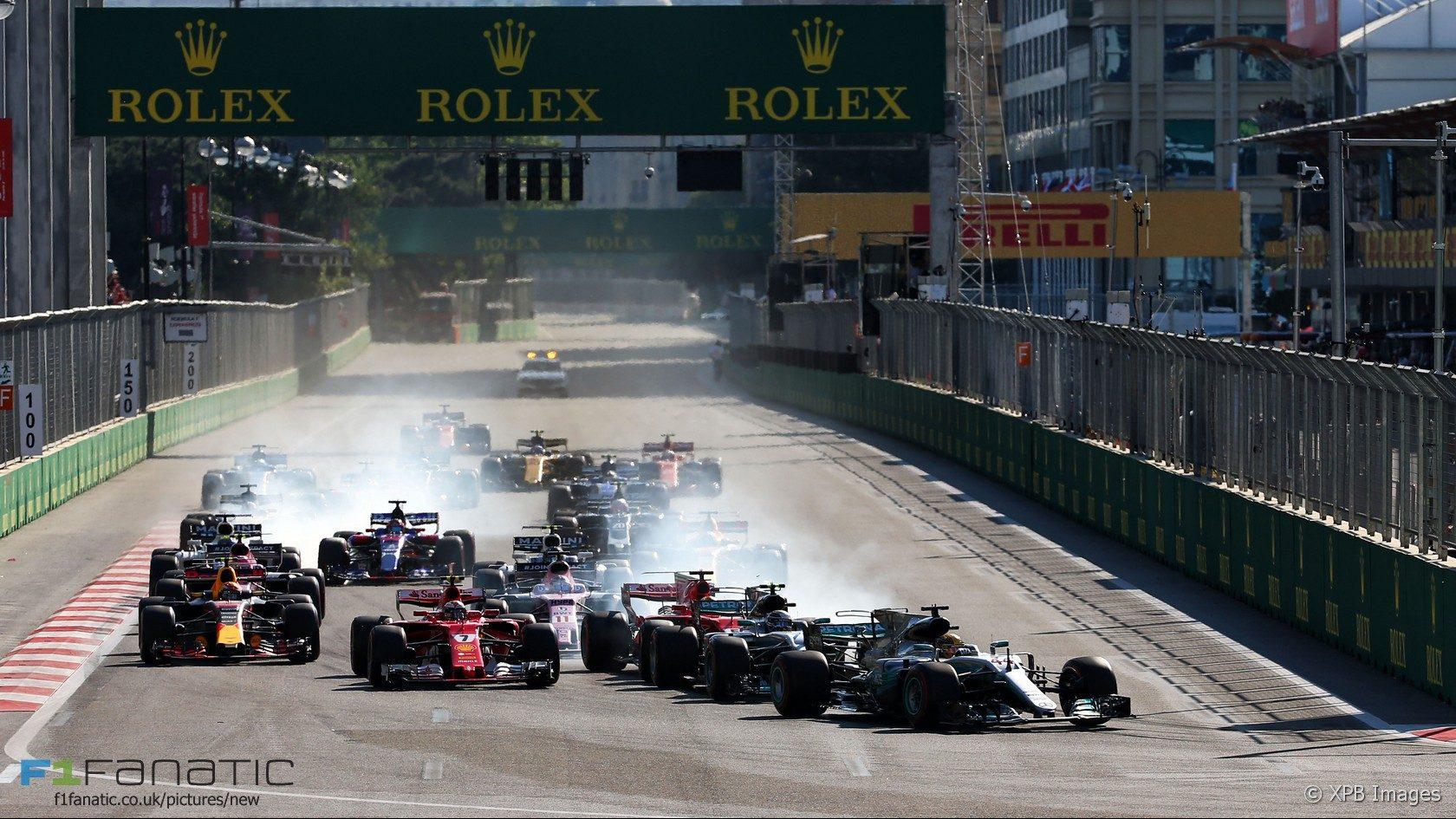 Výsledok vyhľadávania obrázkov pre dopyt GP F1 Azerbaijan 2017