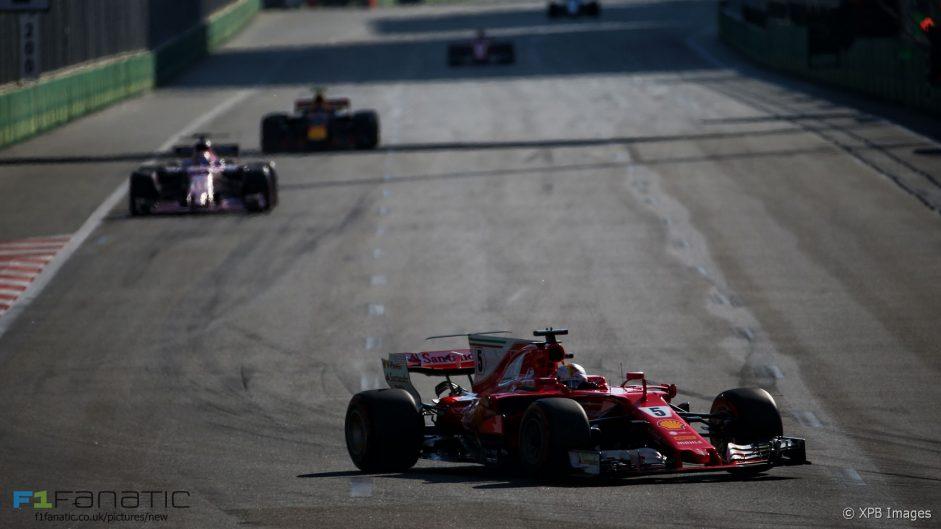 2017 Azerbaijan Grand Prix championship points