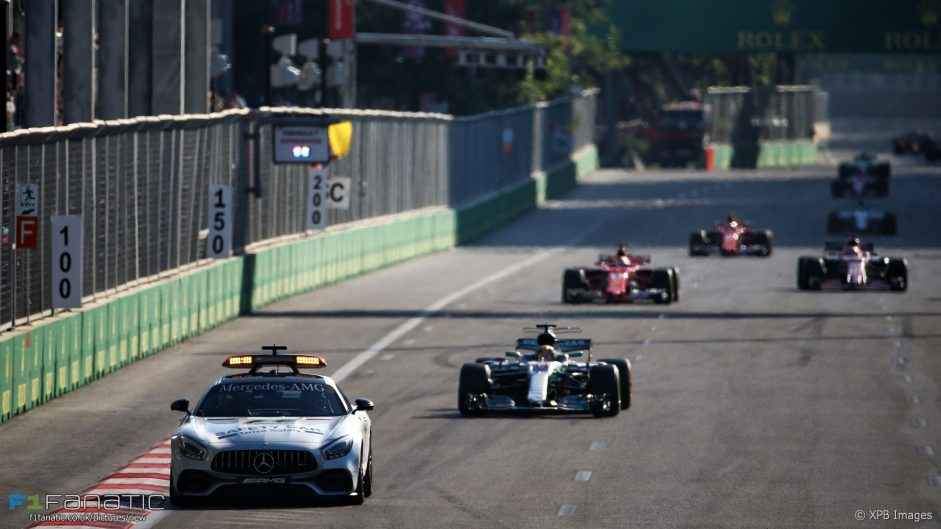 Why Hamilton had to slow the field more at that controversial restart