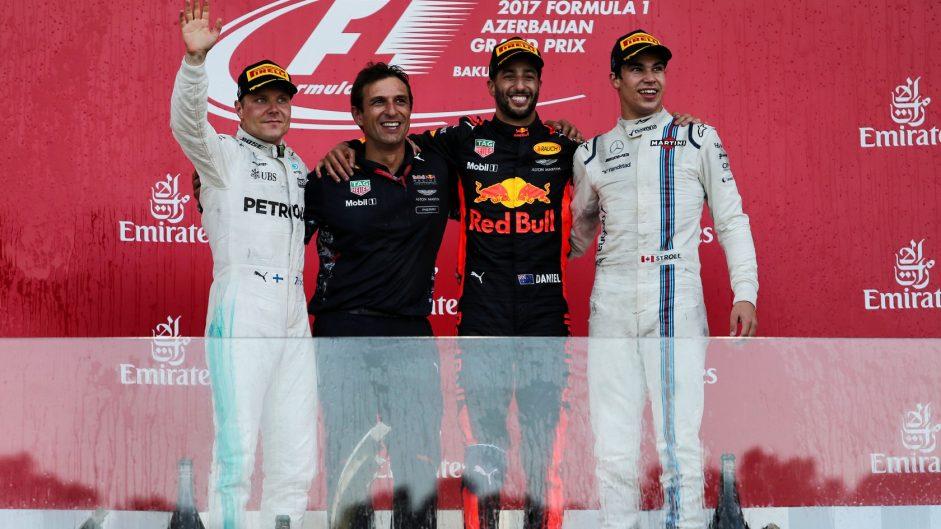Valtteri Bottas, Mercedes, Baku City Circuit, 2017