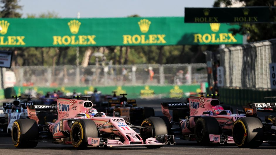 'No change' at Force India: Drivers still free to race despite costly Baku clash