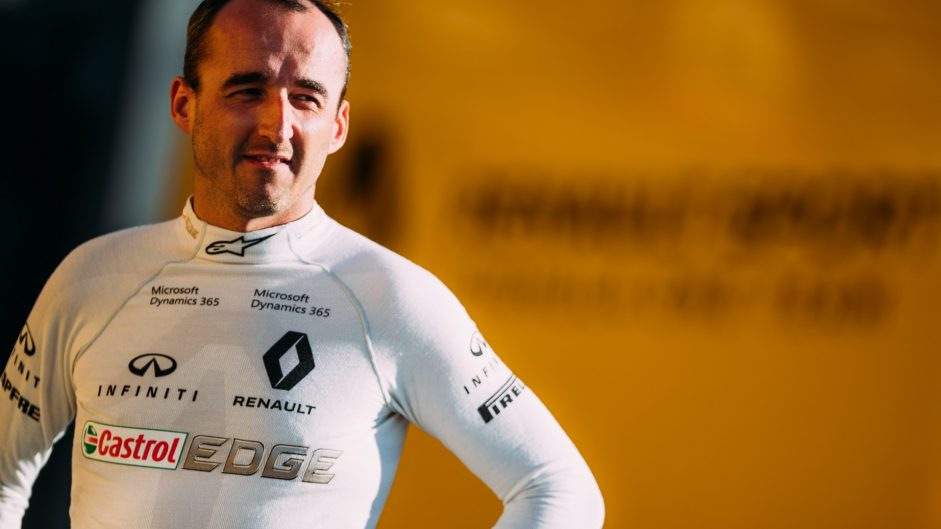 Kubica will test Renault's 2017 car at the Hungaroring