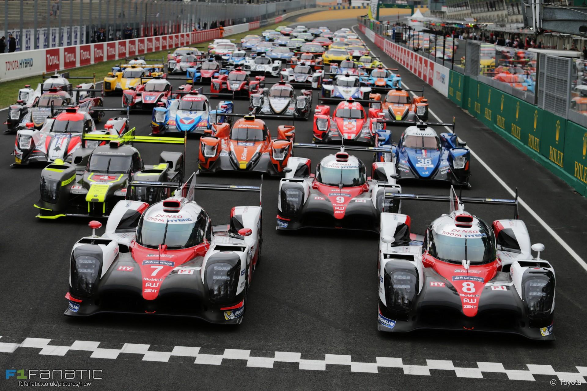 Teams Le Mans 2017