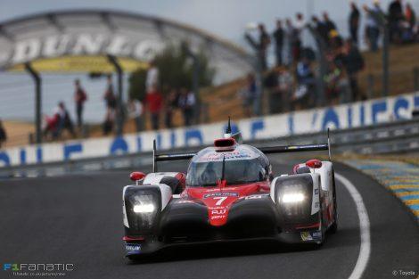 Toyota, Circuit de la Sarthe, Le Mans 24 Hours test, 2017