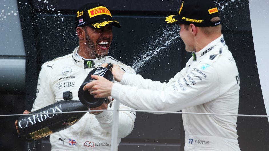 Lewis Hamilton, Valtteri Bottas, Mercedes, Silverstone, 2017
