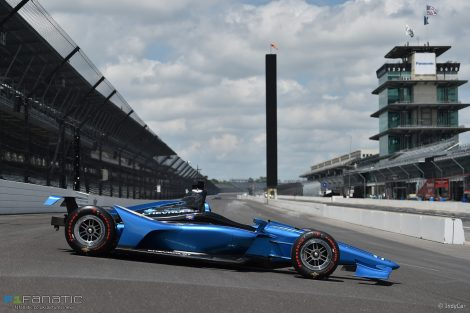 2018 IndyCar aero kit