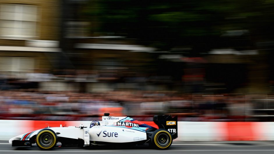 Lance Stroll, Williams, F1 Live London, 2017