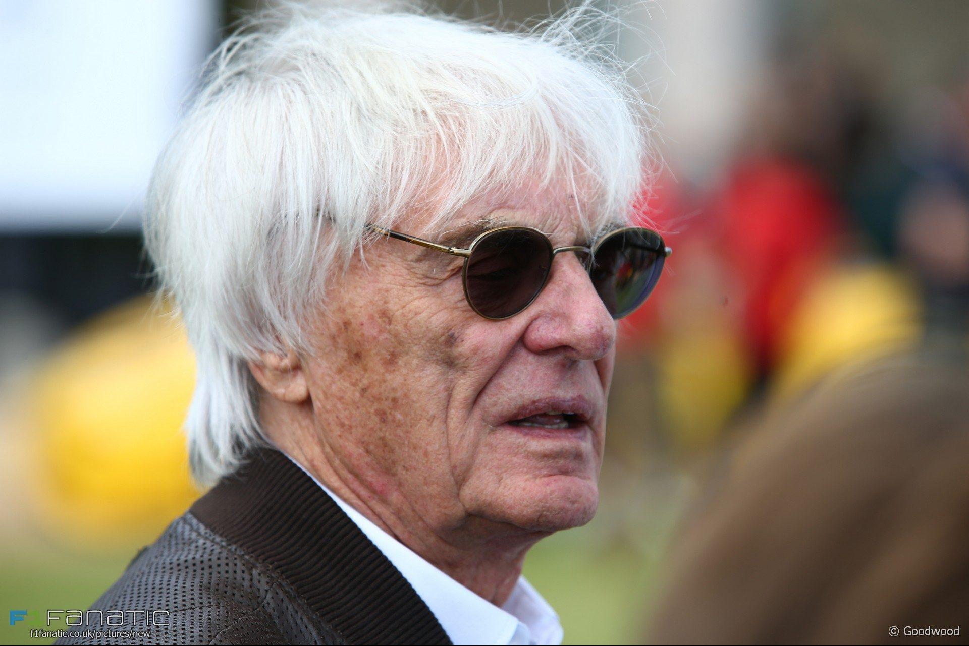 Bernie Ecclestone, Goodwood Festival of Speed, 2017