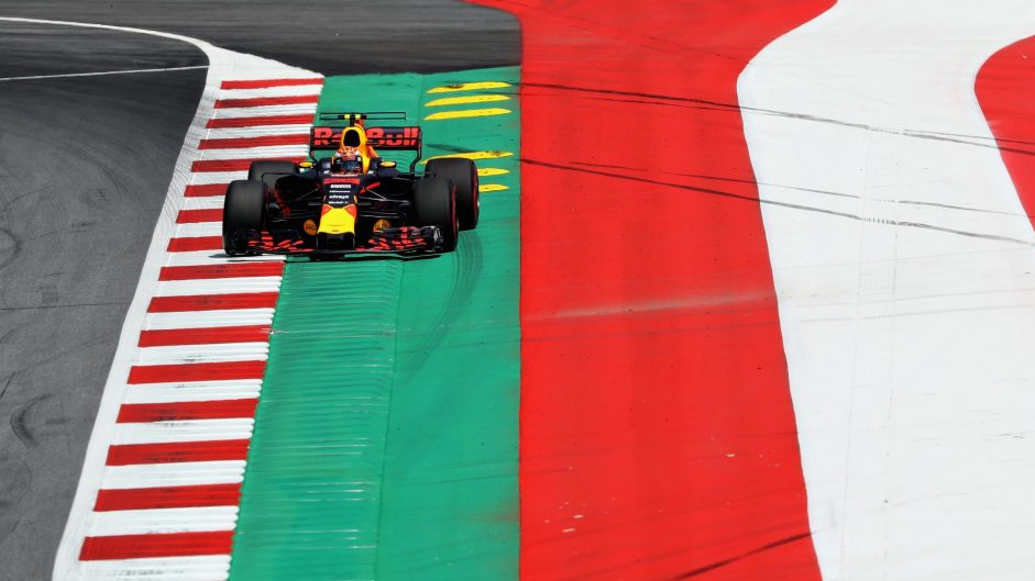 Red Bull Ring kerbs weren't designed for F1 – Verstappen