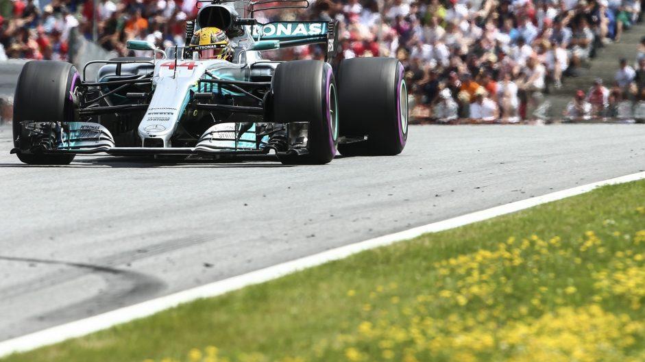 Lewis Hamilton, Mercedes, Red Bull Ring, 2017