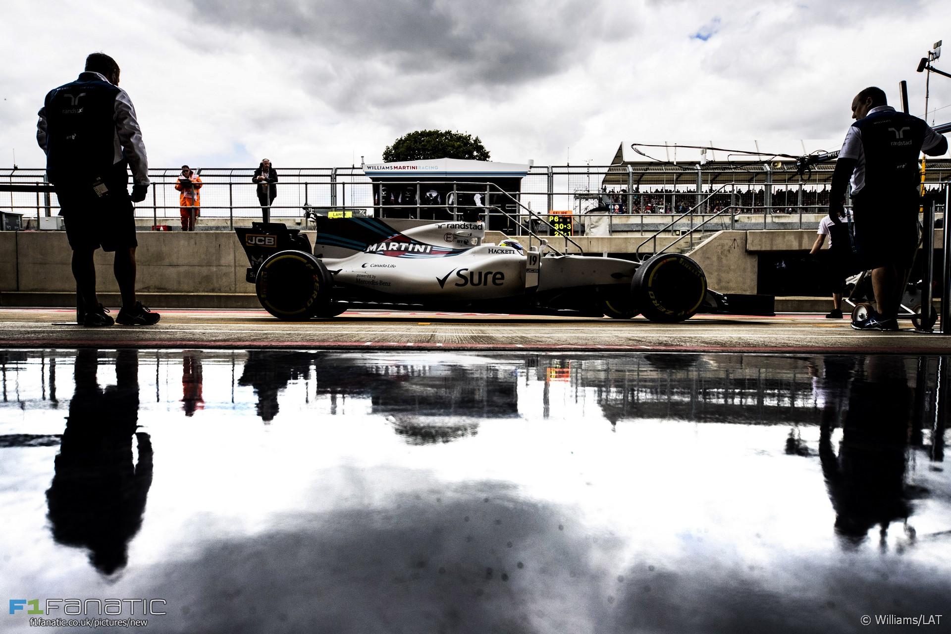 Felipe Massa, Williams, Silverstone, 2017