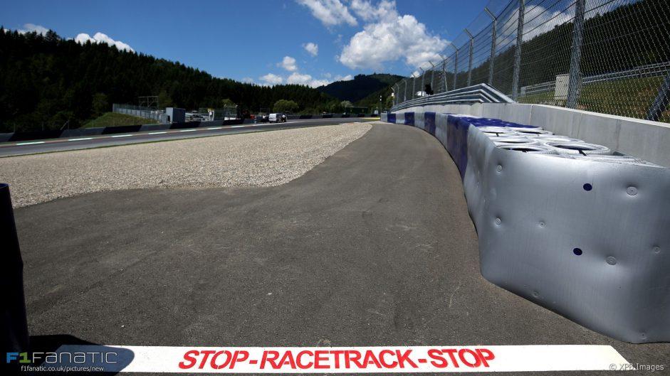 2017 Austrian Grand Prix build-up in pictures