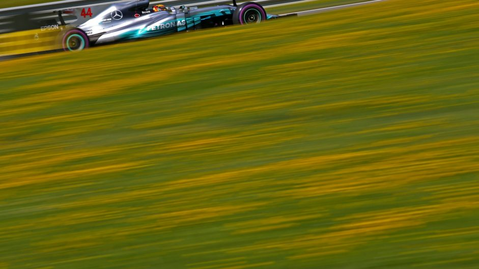Lewis Hamilton, Mercedes, Red Bull Ring, 2017