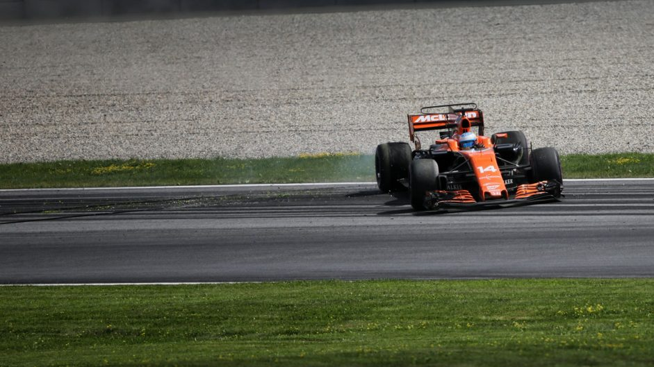 Fernando Alonso, McLaren, Red Bull Ring, 2017